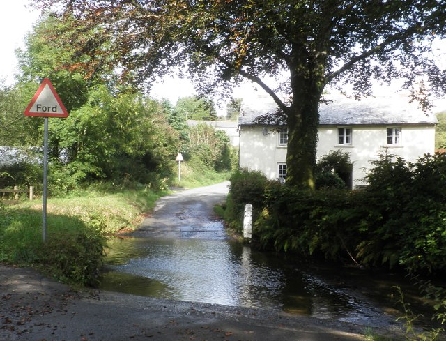 The ford, Challacombe