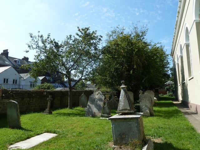 St. Swithun, Allington: churchyard (b)