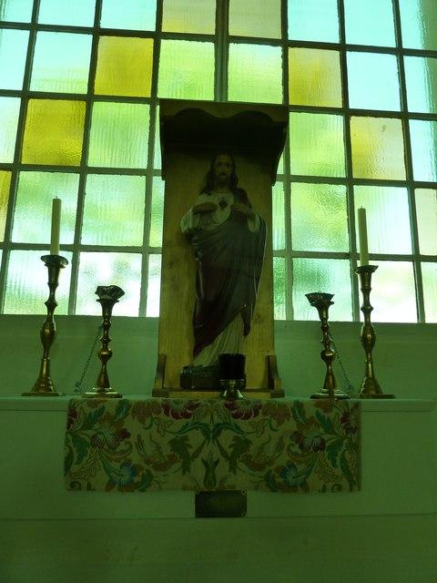 Inside St. Swithun, Allington (6)