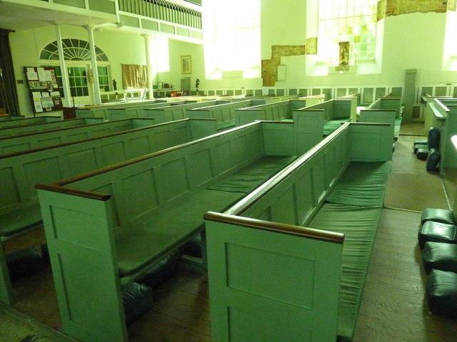 Inside St. Swithun, Allington (9)