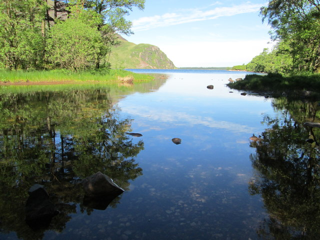 Tree reflections at Ennerdale Water