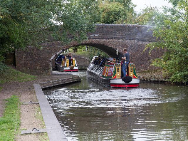Birmingham and Fazeley Canal: Double Bridge