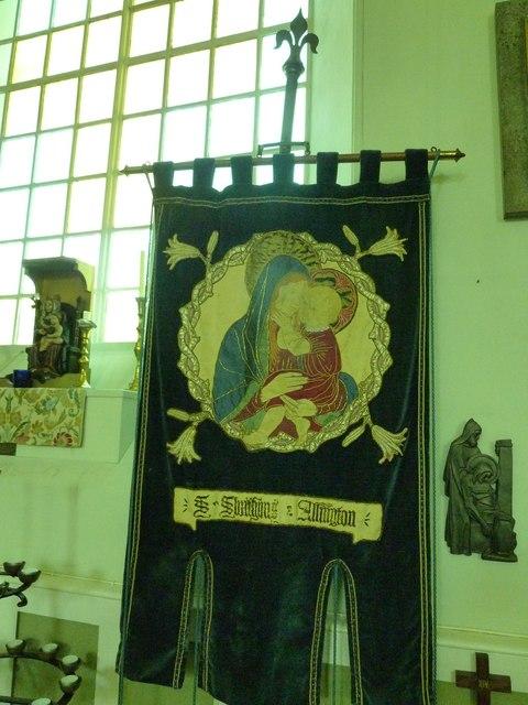 St. Swithun, Allington: banner (i)