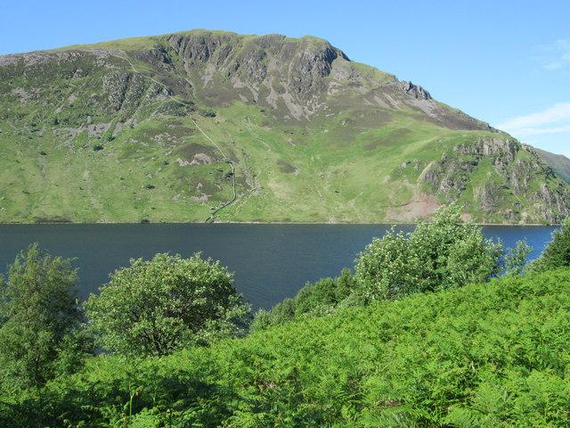 Anglers Crag, Ennerdale Water