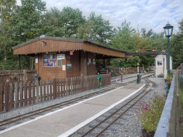 Echills Wood Railway at Kingsbury Water Park