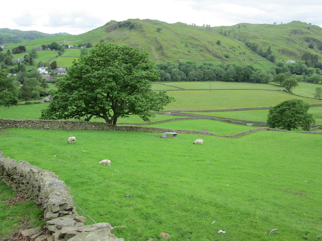 View back towards Staveley and Reston Scar