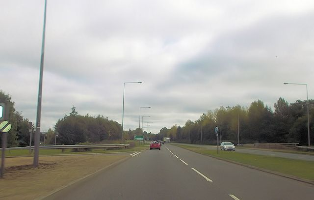 A421 from Steinbeck Crescent