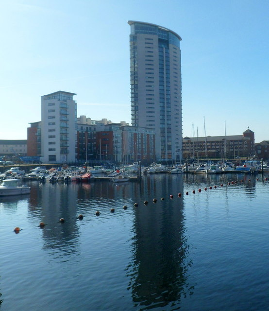 The Tower, Meridian Quay, Swansea