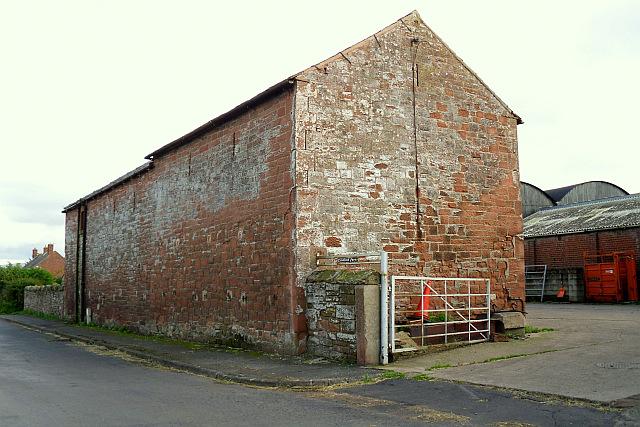 Old sandstone barn at Townhead Farm
