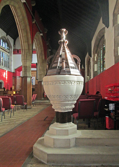 Bobbers Mill Road: St Stephen - font and font cover