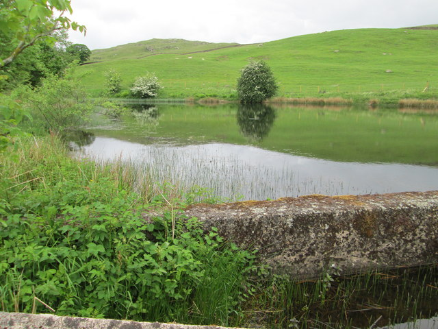 Ghyll Pool Reservoir from near the dam