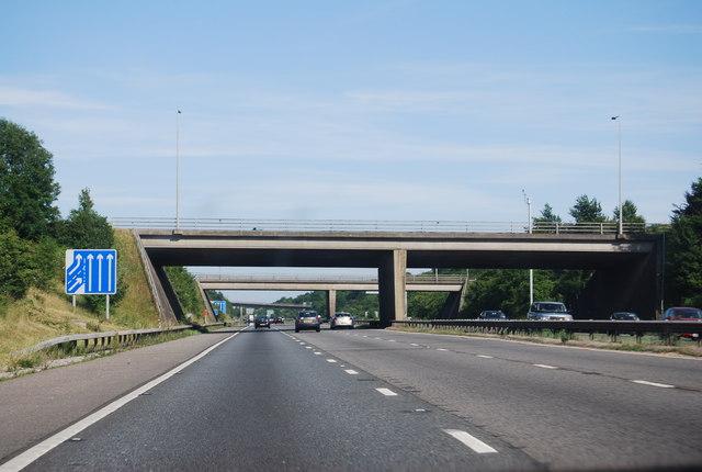 J11 overbridges, M27