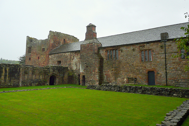 Lanercost Priory, view across the cloister