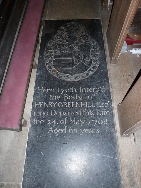 St John the Baptist, Stockton: memorial (a)