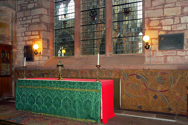 The altar, Lanercost Priory Church