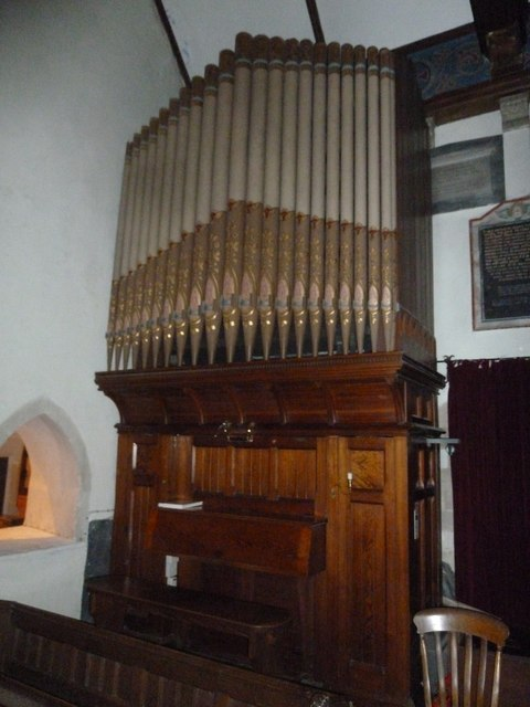 St John the Baptist, Stockton: organ