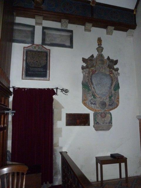 St John the Baptist, Stockton: memorials (c)