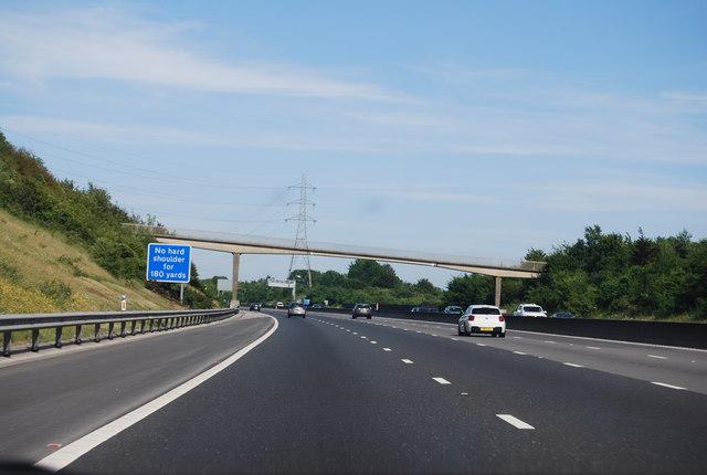 Downend Road Bridge, M27
