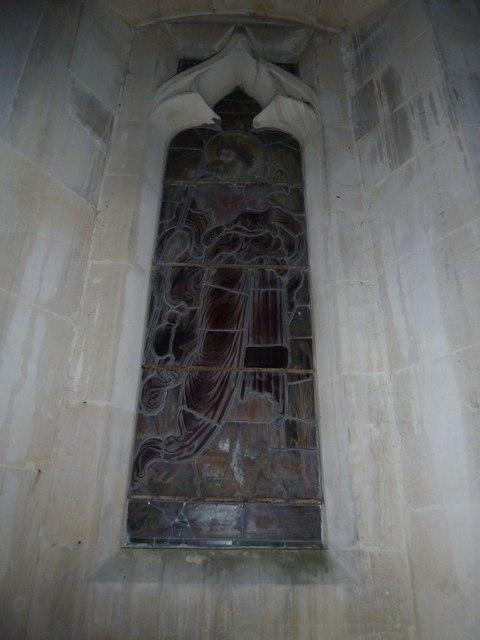 St John the Baptist, Stockton: stained glass window (C)