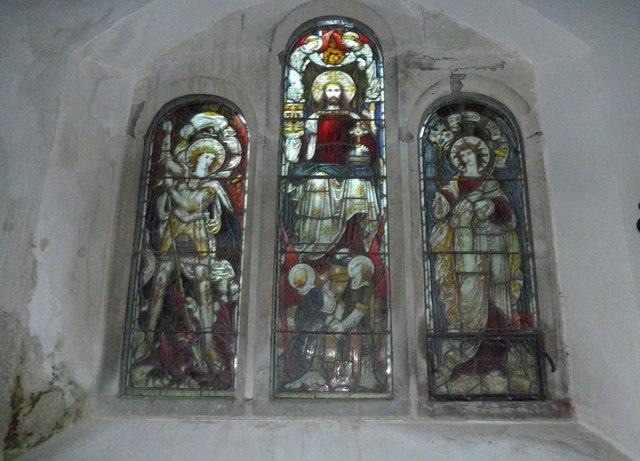 St John the Baptist, Stockton: stained glass window (E)