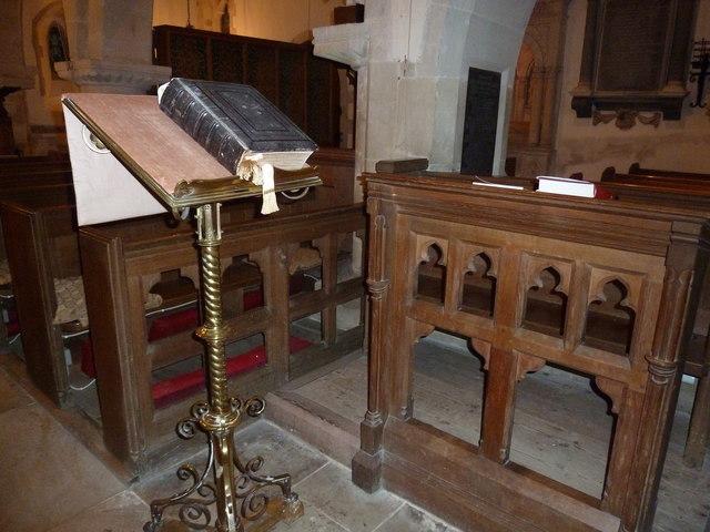 Inside St John the Baptist, Stockton (3)