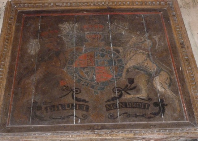 St John the Baptist, Stockton: coat of arms
