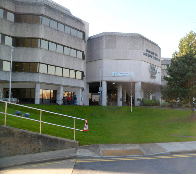 Swansea Central Library