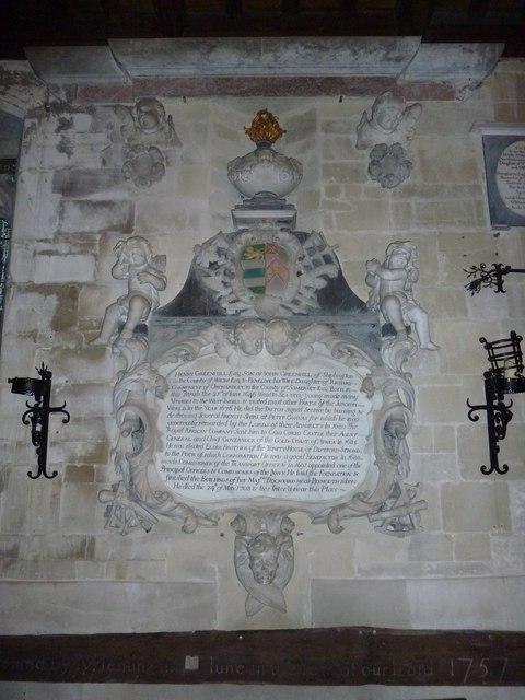 St John the Baptist, Stockton: memorial (q)