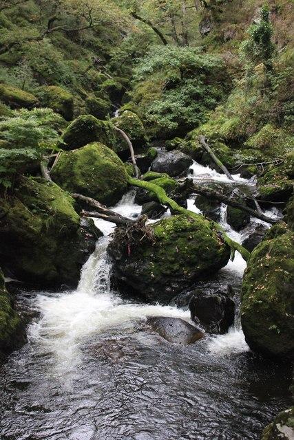Waterfall on the Afon Goedol