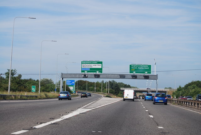 A27 / A3(M) junction