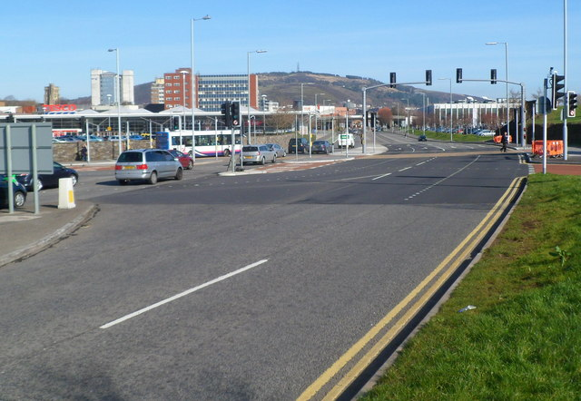 Oystermouth Road NE of West Way Swansea