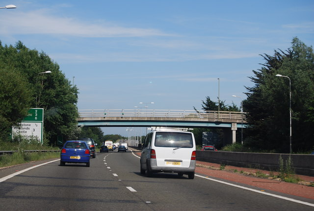 Brockhampton Road Bridge, A27