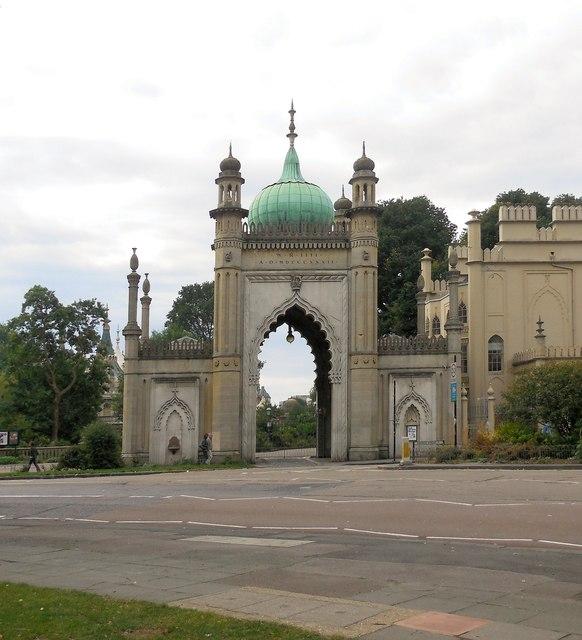 North gate, Brighton Pavilion