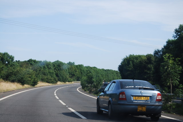 Sweeping curve, A27
