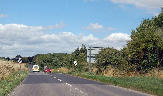 A345 heading north