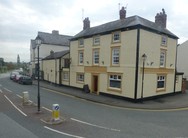 The Red Lion pub in Tarvin