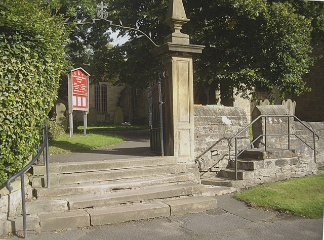 Access gate to All Saints, Lanchester