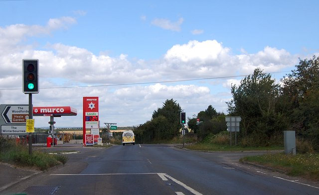 Murco filling station on A345