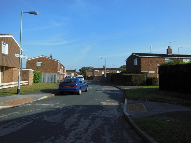 Putney Close off Clapham Avenue, Hull