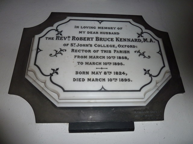 St Gregory, Marnhull: memorial (a)