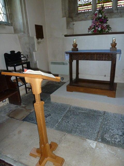 Inside St Gregory, Marnhull (V)