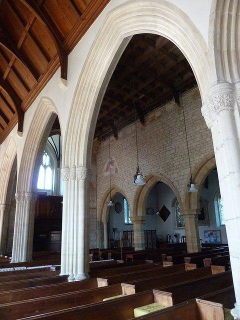 Inside St Gregory, Marnhull (VI)