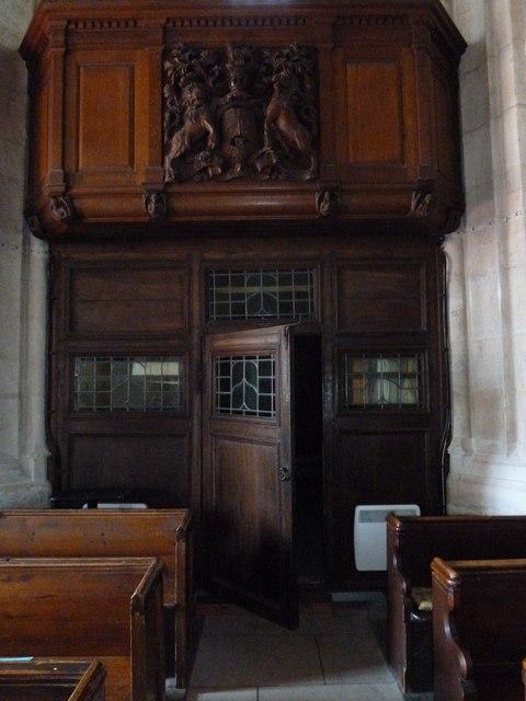Inside St Gregory, Marnhull (VIII)