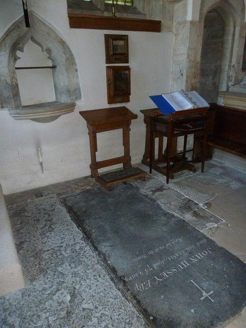 Inside St Gregory, Marnhull (IX)
