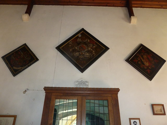 Inside St Gregory, Marnhull (X)