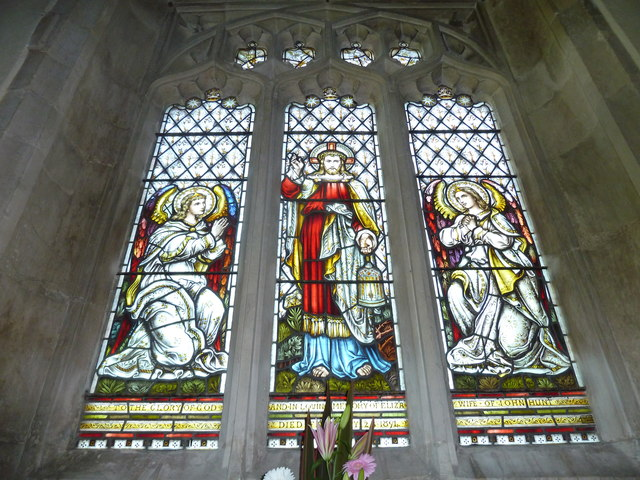St Gregory, Marnhull: stained glass window (2)