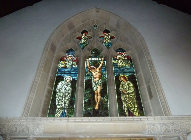 St Gregory, Marnhull: stained glass window (3)