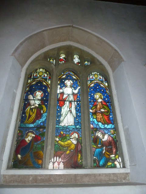 St Gregory, Marnhull: stained glass window (5)