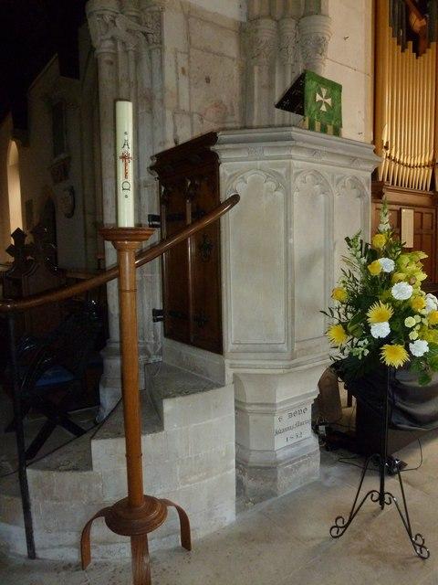 Inside St Gregory, Marnhull (XII)