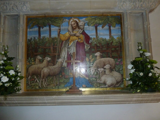 St Gregory, Marnhull: artwork
